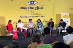 PEN-Myanmar-BOD-member-participating-in-a-representation-panel-at-RIPE-Dec-2019