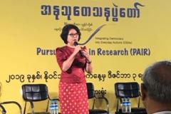 PEN-Myanmar-Sayama-Ma-Thida-giving-the-keynote-speech-at-RIPE-on-30-Nov-2019