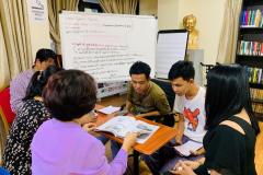 PEN-Myanmar-project-team-meeting-developing-vox-pop-questionnnaire-August-2019